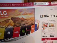 LG 4K Ultra HD 43 inch TV-43UF770V-[Energy Class A] Just like New