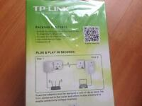 Tp link pass through power line starter kit brand new