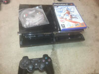 for sale the original sony ps3 with 60 gb hard rive plays all ps 1 /2 /3 games £35