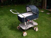Silver Cross combination pram/pushchair/carrycot