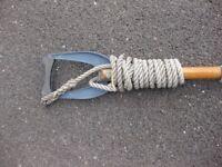 Mooring Hook & Flagstaff