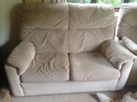 Parker Knoll Comfy Beige Sofa and Chairs