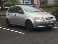 CHEVROLET KALOS 1.1 2005 (05 REG)* LONG MOT/NO ADVISORIES*LOW MILEAGE*MANUAL*PX WELCOME*DELIVERY*