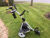 Pro-force electric golf trolley