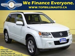 2011 Suzuki Grand Vitara 4WD, E-tested & Certified, Pearl White