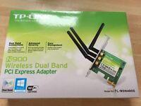 TP-Link N900 wireless PCI express card - £20