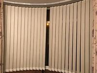 Hillarys blinds - vertical blinds for bay window