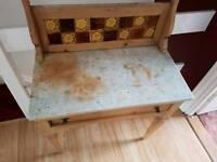 Old fashioned washstand