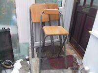 3 folding bar stools
