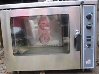 PARRY electric combination oven - Model TEC6MD