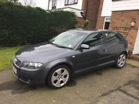 Audi A3 2.0 TFSI. DSG gearbox. Only 73000 miles. FSH. Factory Bose sound system.