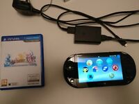 Sony PS Vita Slim + game and charger