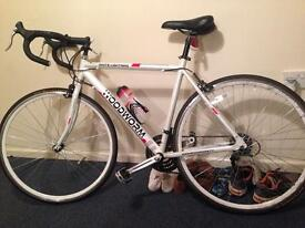 Road bike used only a few times +extras
