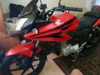 Honda CBF 125cc Motorbike