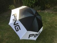 Brand new Ping Golf Umbrella (excellent unused condition).