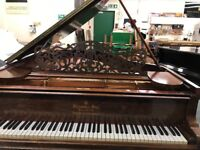 Steinway Grand Piano Model A in Rosewood. Made in Hamburg in 1900 For sale due to downsizing