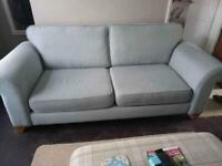 Two Seater Sofa & Arm Chair