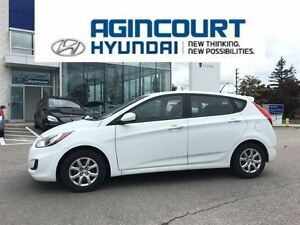 2013 Hyundai Accent GL/HEATED SEATS/OFF LEASE/ONLY 59128KMS!!