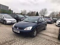 2007│Mitsubishi Lancer 1.6 Equippe 4dr│1 Owner From New│Mitsubishi Service History│1 Year MOT
