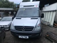 Mercedes Sprinter 313, 2012 (12reg) Flatbed, Easy to convert to recovery truck, 237000k Automatic