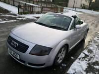 Audi tt convertible 180bhp Quattro full mot