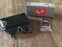 Genuine clubmaster rayban sunglasses