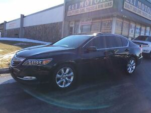 2014 Acura RLX P-AWS.PREMIUM PKG.REAR VIEW CAMERA.BLUETOOTH.LEAT