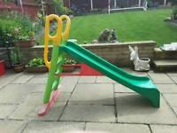 Children's 4' garden slide