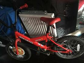 MUFC child's bicycle