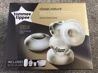 Tommee Tippee Closer to nature single electric breast pump - Brand new in box