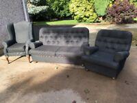Black suite of furniture