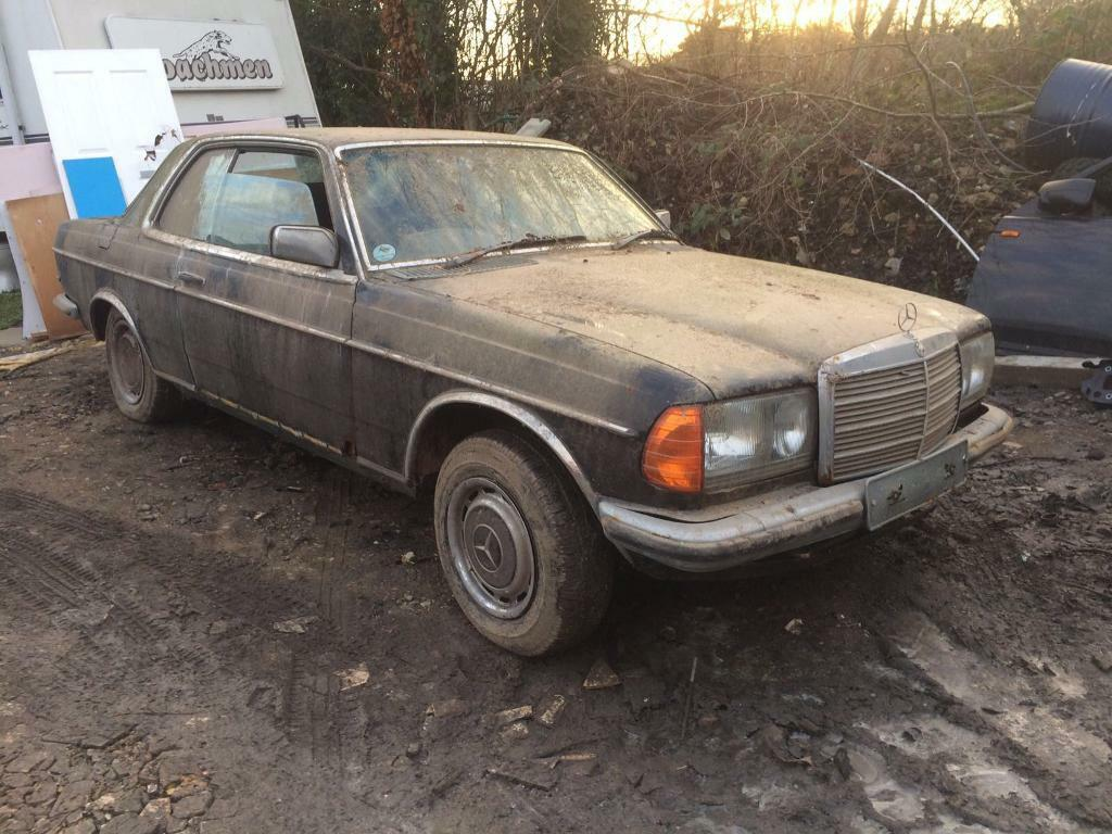 Mercedes 230ce barn find classic car in laindon essex for Buy classic mercedes benz