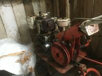 Merry Tiller Titan GT Rotavator, 1977 with lots of extra blades etc,