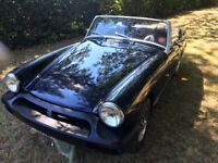 MG Midget 1976 Royal Blue - very good condition