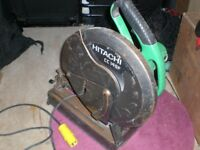 Hitachi CC 14 SF, 110V metal chop off saw