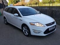 2012 FORD MONDEO 2.0 TDCI TITANIUM POWERSHIFT AUTO TOP SPEC FSH FOCUS GALAXY VW GOLF PASSAT A3 A4 A6