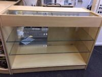 Shop / Cashier Counter with Glass Display