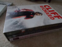 Cliff Richard DVD set and Cd's