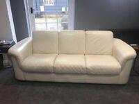 Leather 3 seater sofa & 2 seater sofa