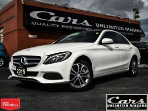 2015 Mercedes-Benz C-Class C300 | NAVI | CAMERA | ROOF | 4-MATIC