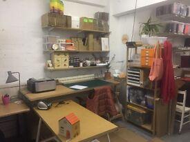 creative studio share space in dalston, all bills included
