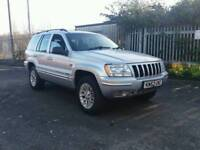 For sale Jeep Grand Cheeroke 52 plate 2.7CRD DIESEL AUTO 12 MONTH MOT