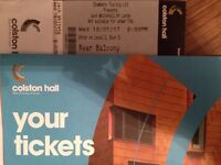 Jack Whitehall tickets x3 seated together