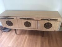 Lovely piece of retro furniture. Vintage sideboard/drinks cabinet.