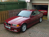 BMW E36 328i Sport manual coupe, new MoT, prepared by enthusiast