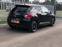 Citroen DS3 1.6 THP DSport 3dr - 1 Former Keeper - 3 Months Warranty