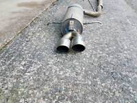 Subaru forester stainless exhaust