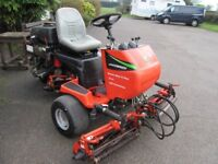 RIDE ON JACOBSON CYLINDER MOWER,NEEDS SERVICING.STARTS AND RUNS WELL