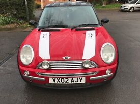 Well looked Mini Cooper brand new mot only £1000 this weekend only