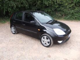 ford fiesta zetec climate moted 5 door black 1.4 cc pas air/con